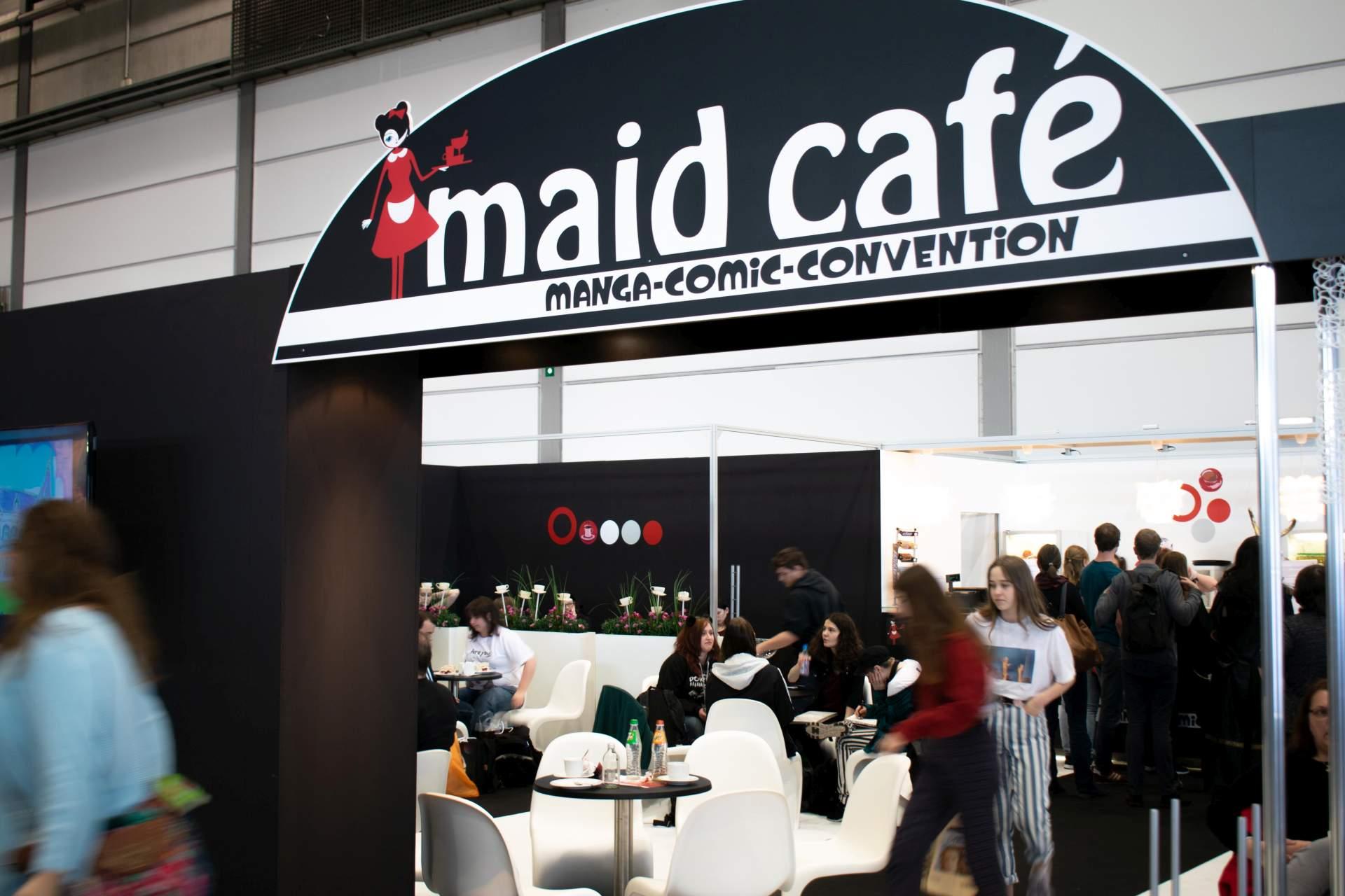 Maid Cafe auf der LBM